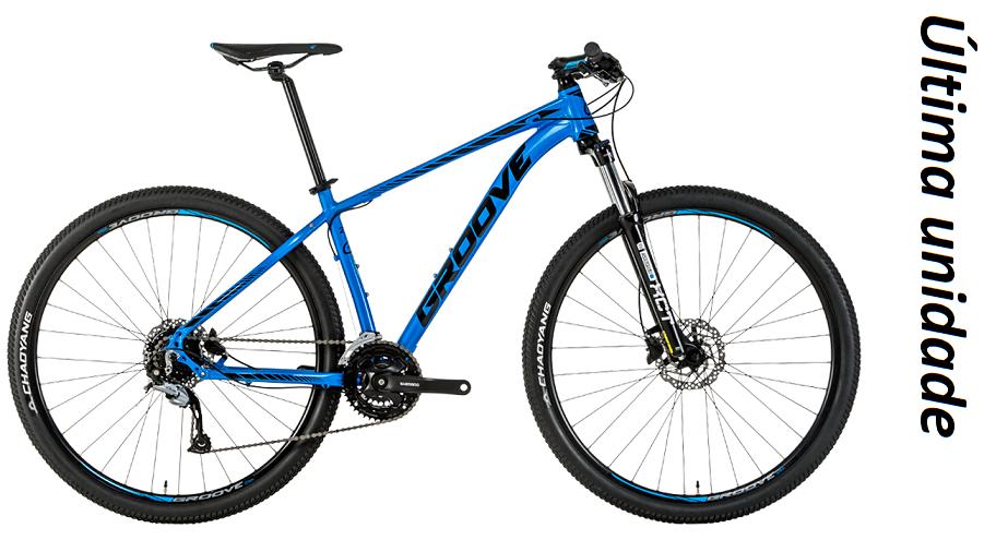 Bicicleta Groove SKA 50 24V Azul/Preto