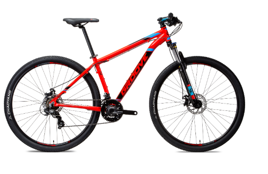 Bicicleta Groove Zouk HD 21V Vermelho
