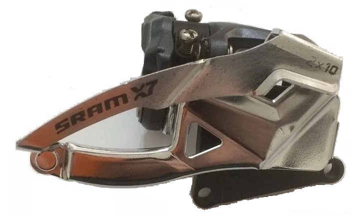 Cambio Dianteiro Sram X7 2x10 S1 Dualpull 39t