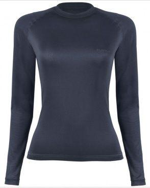 Camiseta Curtlo Thermoskin Feminina Segunda Pele Preta