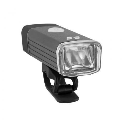 Farol Dianteiro High One Recarregável USB Preto 180 Lumens