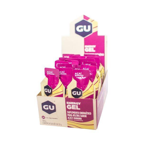 Gu Energy Gel - Caixa com 24 un. Açai e Banana