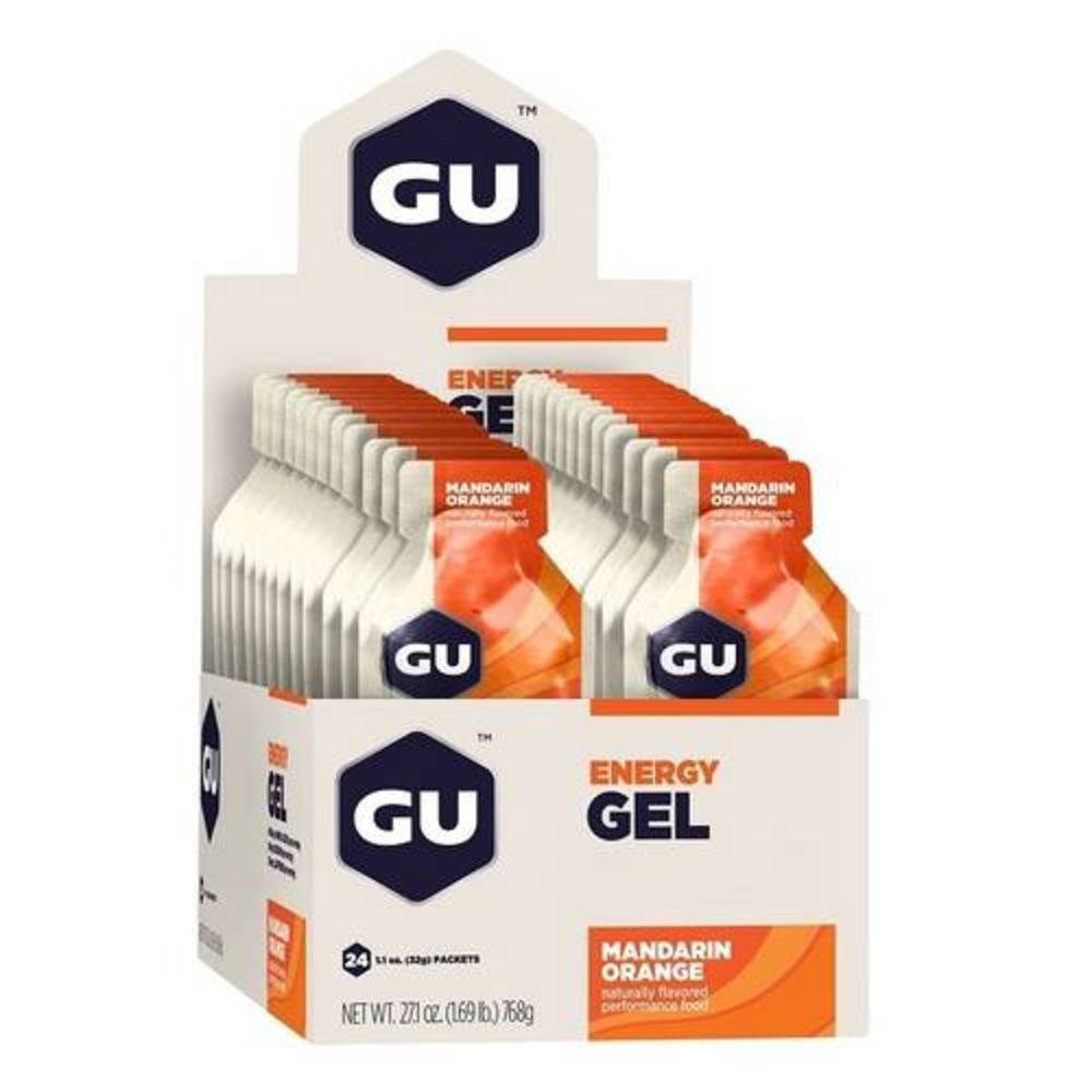 Gu Energy Gel - Caixa com 24 un. Laranja-Tangerina