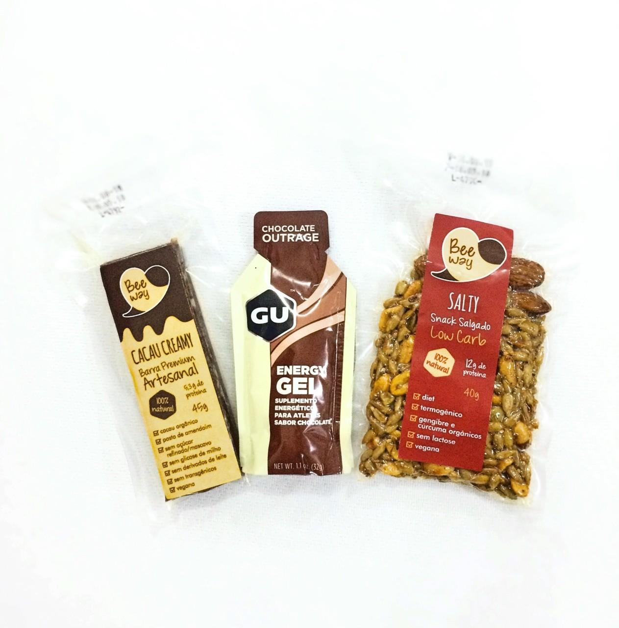 Kit Nutritivo Treino BeeWay/gu gel