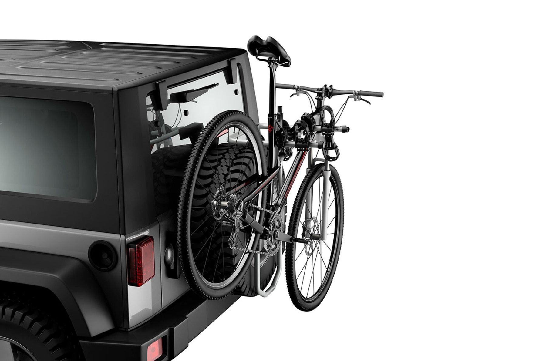 Suporte para Bicicleta para Tampa Traseira SpareMe Pro