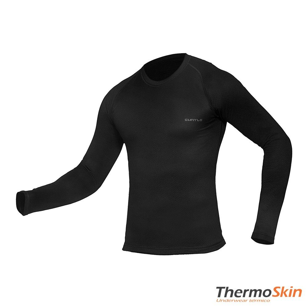 T-shirt Curtlo ThermoSkin Manga longa