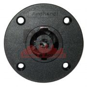 Speakon Amphenol 4 polos redondo de painel SP-4-MC