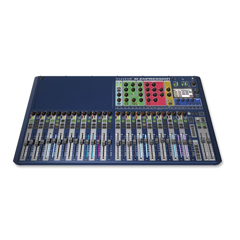 Console Digital Soundcraft SI Expression 3 32 in / 16 out