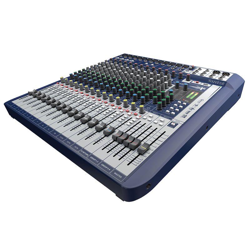 Mesa Soundcraft Signature 16 analógica