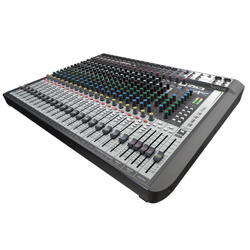 Mesa Soundcraft Signature 22 Multitrack analógica
