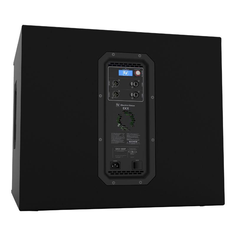 """Sub ativo EV Electo Voice EKX-18SP 18"""" 1300 Watts"""