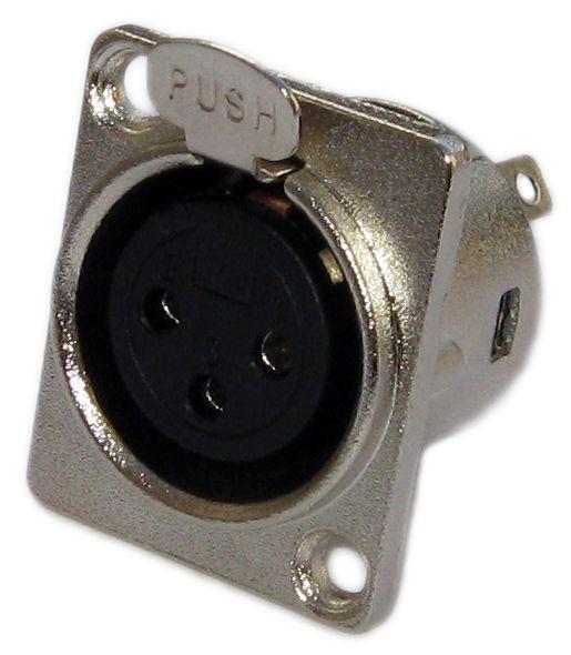 XLR (canon) Evolução fêmea de painel BF5009