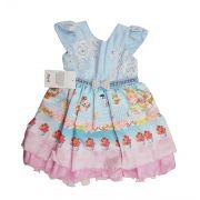 Vestido de Festa Infantil Cupcake Mariê