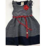 vestido marinheiro de menina angero