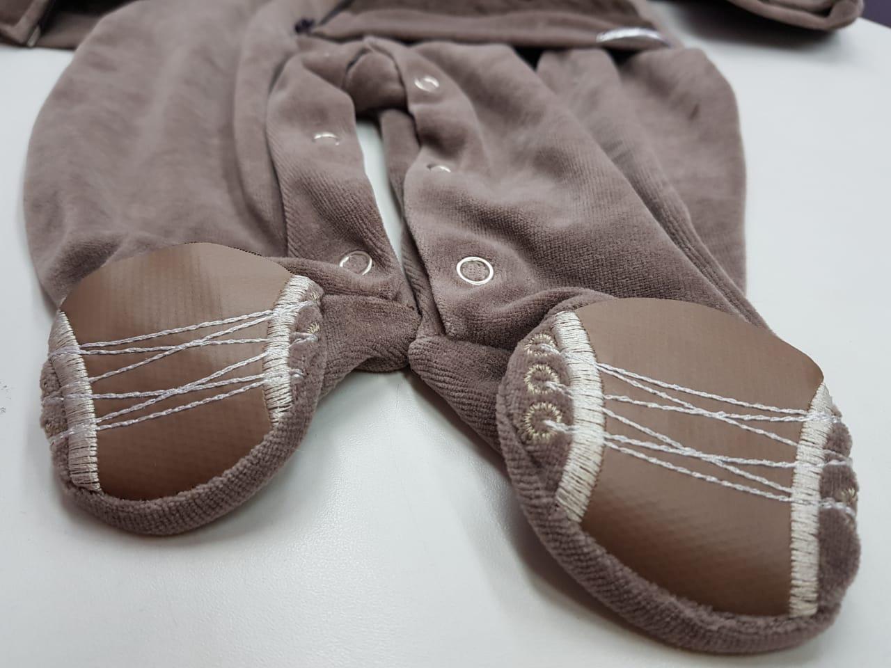 Macacão de Bebê Masculino Soninho Infantil