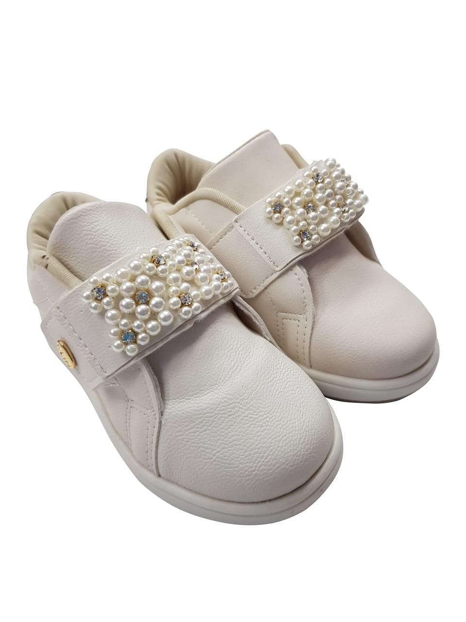 Tênis de Bebê/Infantil Feminino Mini Gloss Klin