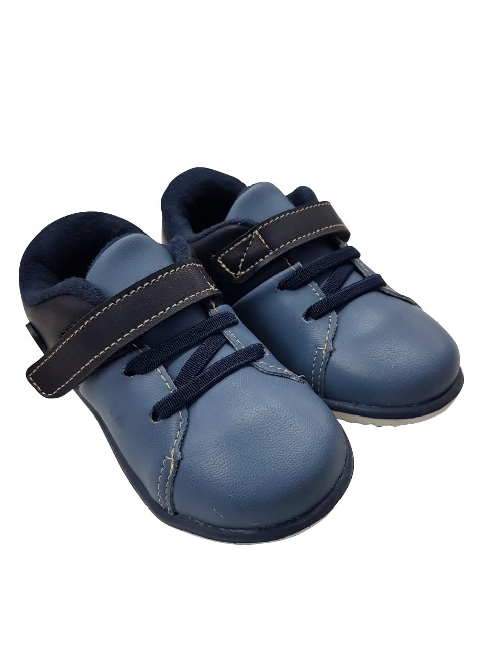 5541360df35 Tênis de Bebê Infantil Masculino Cravinho Casual Klin