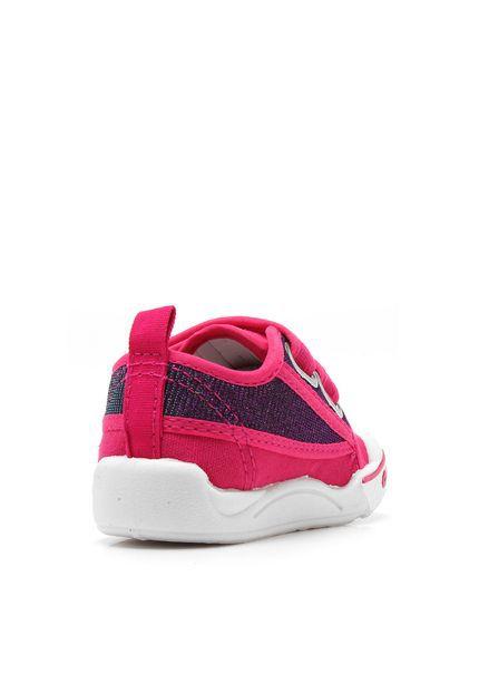 Tênis Infantil Feminino Toy Pink Klin