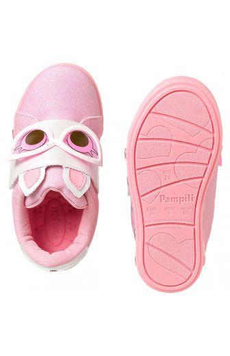 Tênis Infantil Sneaker Luz Dot's Rosa Degradê Pampili