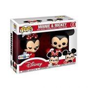 Funko Pop Disney Mickey e Minnie - Exclusivo