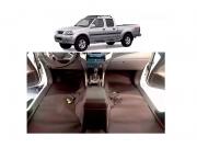 Forro Super Luxo Automotivo Assoalho Para Frontier 2003 a 2007