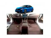 Forro Super Luxo Automotivo Assoalho Para Honda Civic 2017 a 2018