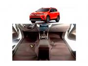 Forro Super Luxo Automotivo Assoalho Para RAV4 2009 a 2018