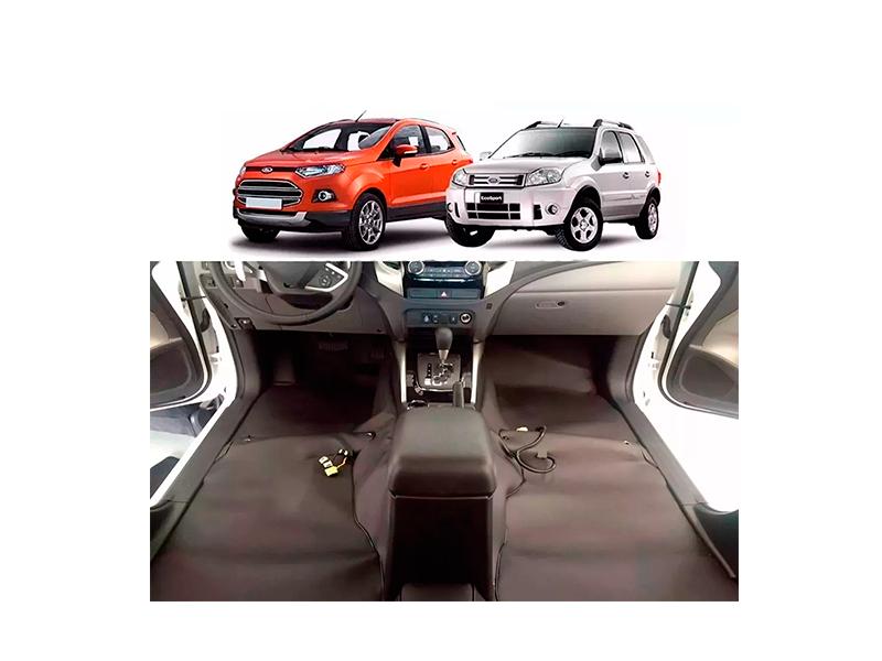 Forro Super Luxo Automotivo Assoalho Para Ecosport Todos