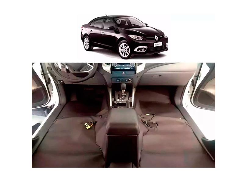 Forro Super Luxo Automotivo Assoalho Para Fluence 2010 a 2016