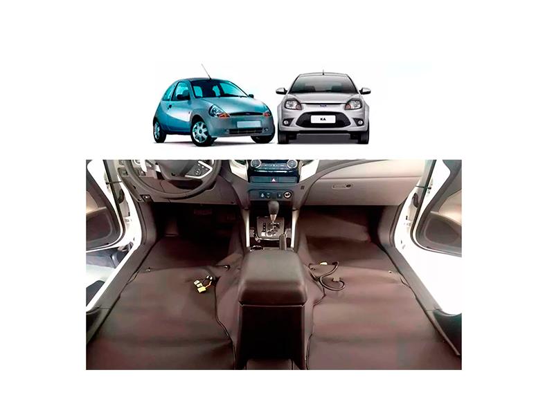 Forro Super Luxo Automotivo Assoalho Para Ford Ká até 2013