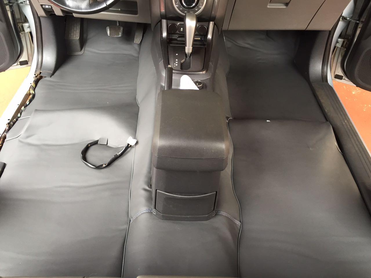 Forro Super Luxo Automotivo Assoalho Para Frontier 2008 a 2016