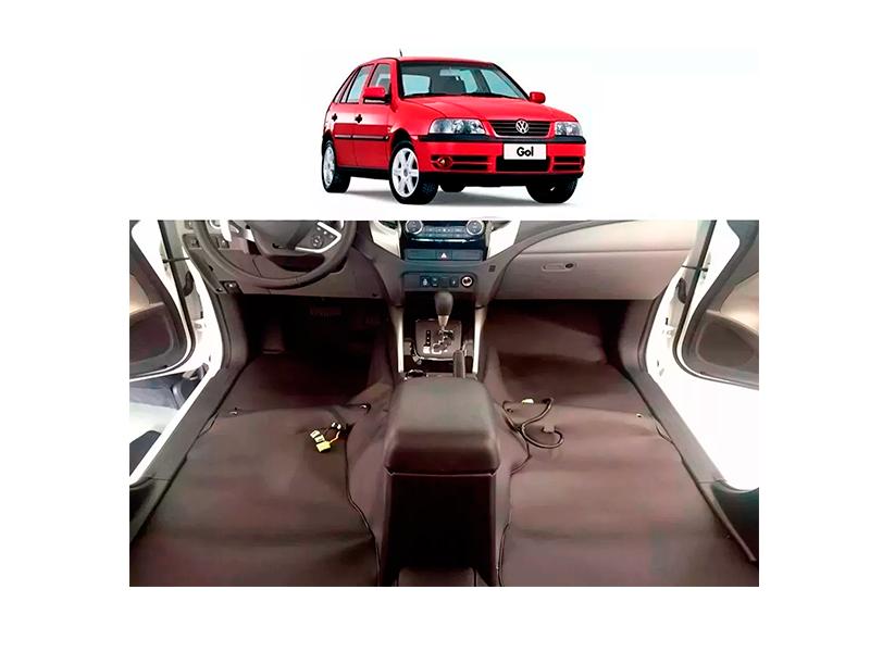 Forro Super Luxo Automotivo Assoalho Para Gol G3