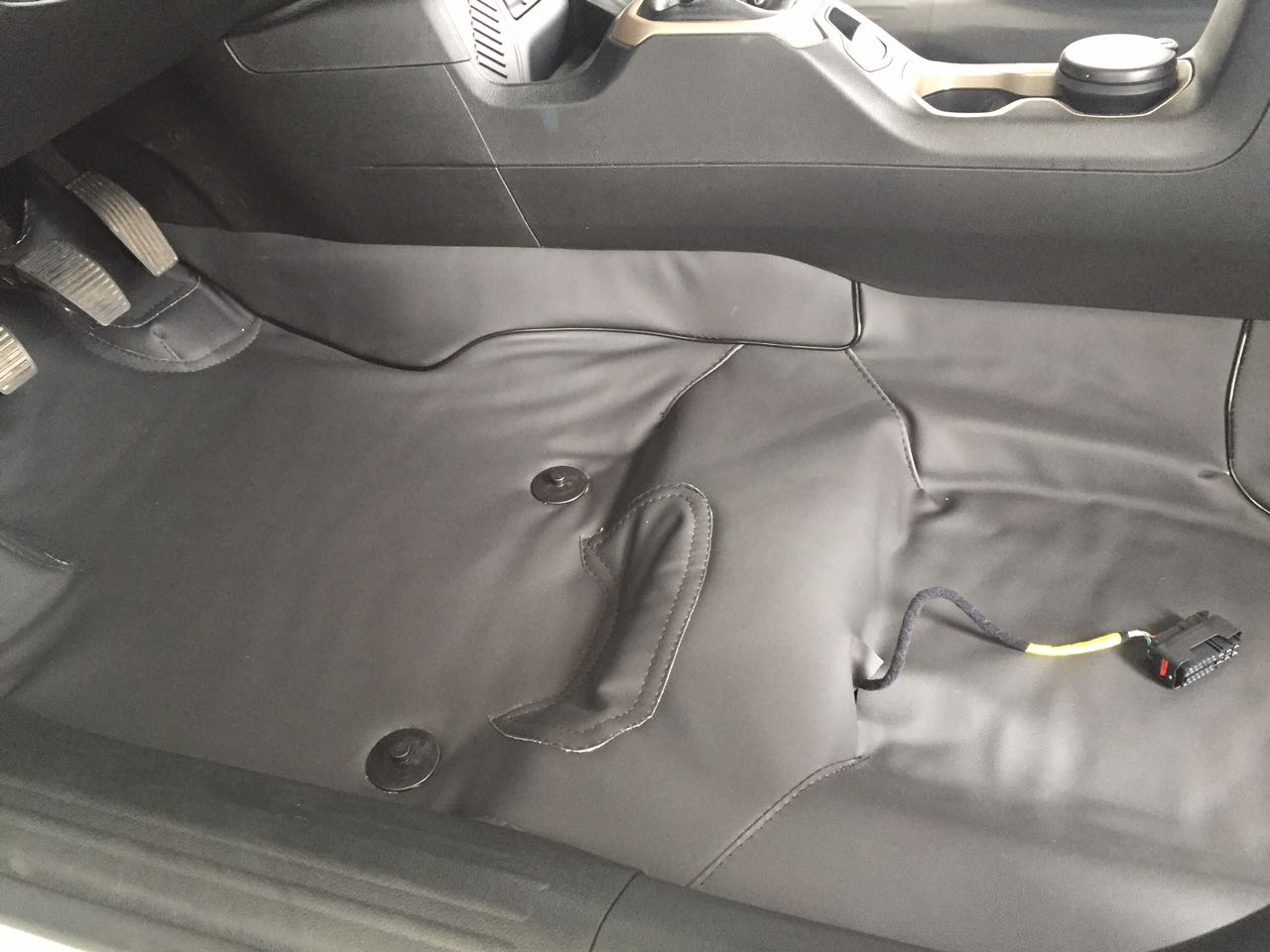 Forro Super Luxo Automotivo Assoalho Para Polo 97-2001