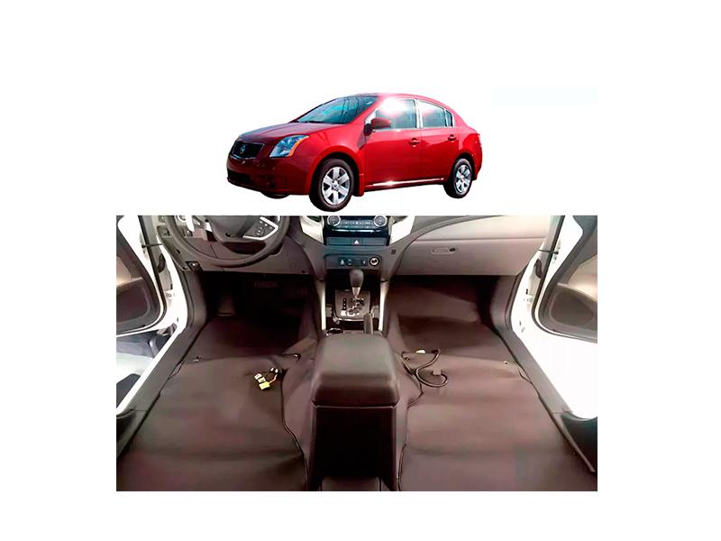 Forro Super Luxo Automotivo Assoalho Para Sentra 2009 a 2012