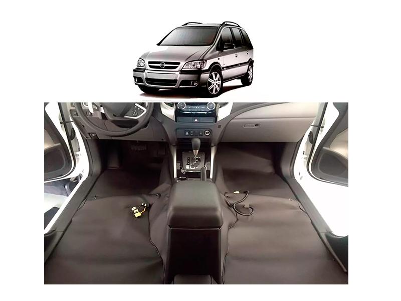 Forro Super Luxo Automotivo Assoalho Para Zafira Todos