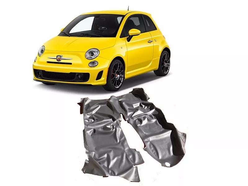 Tapete Carpete Assoalho Vinil Verniz Para Fiat 500