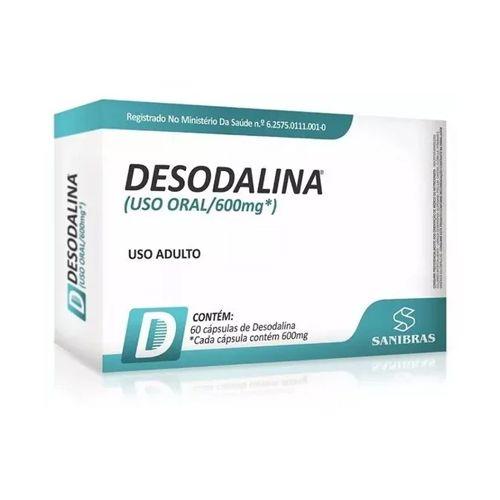 Emagrecedor Desodalina Sanibras - 60 Cápsulas