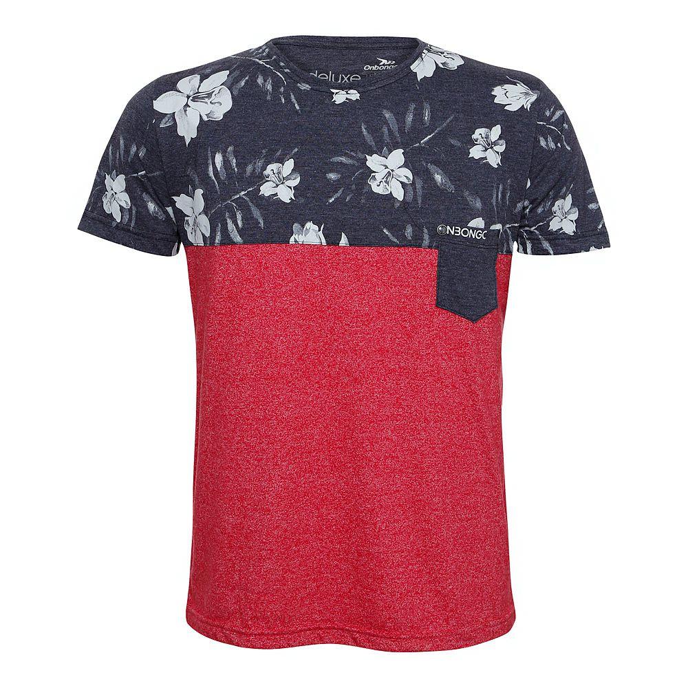 Camiseta Deluxe Onbongo Floral