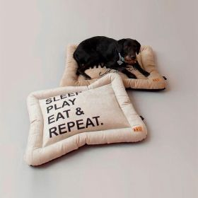 Colchonete Nap Repeat Beds for Pets Azul Acqua - G