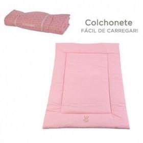 Colchonete Woof Classic Essence Rosa
