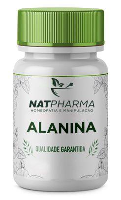 Alanina 1g - 60 caps