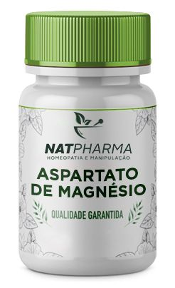 Aspartato de Magnésio 500mg - 60 caps