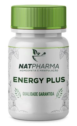 Energy Plus - Melhora a energia para o dia a dia, é antioxidante, ajuda na detox - 30 caps