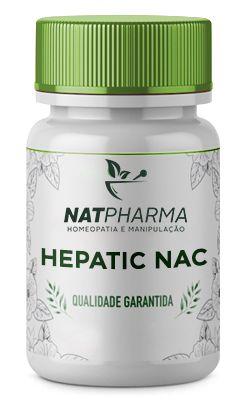 Hepatic NAC - Desintoxicação do fígado - 30 caps