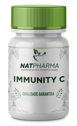 Immunity C - Antioxidante que aumenta a imunidade - 60 caps