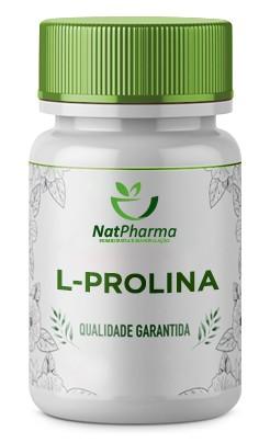 L-Prolina 500mg - 60 caps