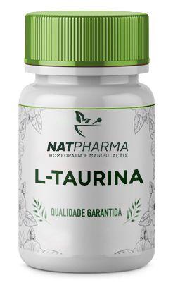 L-Taurina 500mg - 60 caps
