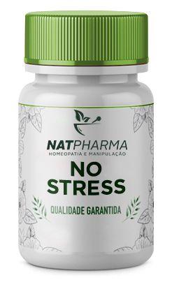 No Stress - Combate o Stress e Melhora a Fadiga - 30 caps