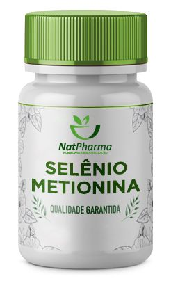 Selênio Metionina 500mg - 60 caps