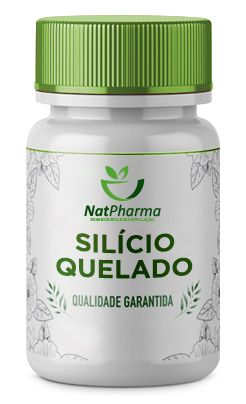 Silício Quelado 5mg - 60 caps